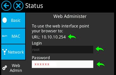 Almond+ Router Status